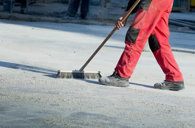 Reinigungsmitarbeiter