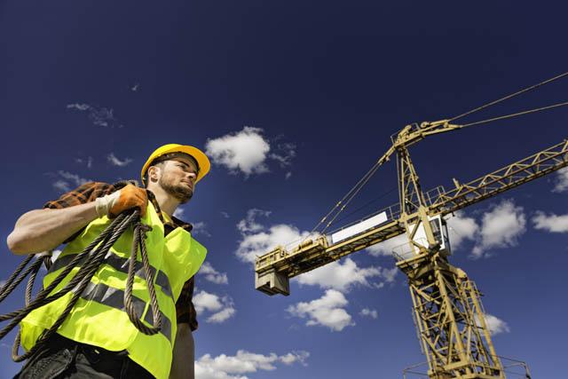 Bauarbeiter B
